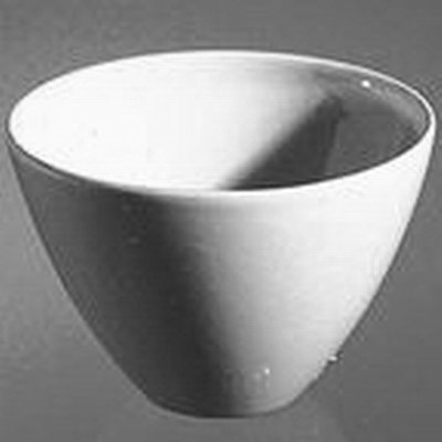 Coors™ Porcelain Crucibles, Low, Wide Form