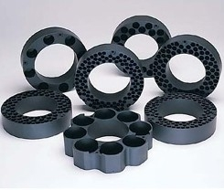 PTFE-Coated Aluminum Blocks
