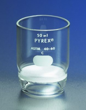 Pyrex® Gooch High Form Crucibles with Fritted Disc
