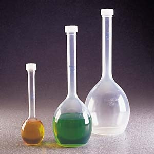 Nalgene™ Polymethylpentene Volumetric Flasks