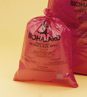 High Impact Biohazard Disposal Bags