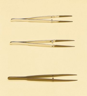 Steel Forceps with PTFE Coating