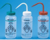 Safety Labeled Self-Venting Wash Bottles