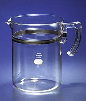 Corning® Pyrex® 3L Glass Beaker with Handle and Spout
