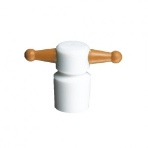 Corning® Pyrex® PTFE Color-Coded ST Keyhole Stoppers