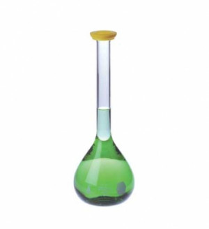 Kimax® Serialized/Certified Volumetric Flasks with Snap Cap, Class A