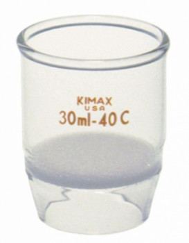 Kimax® Gooch High Form Crucible with Fritted Disc