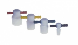 Key-Head Color-Coded Medium Length PTFE Stoppers