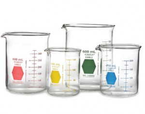 DWK Life Sciences Kimax® Low Form Colorware Beakers