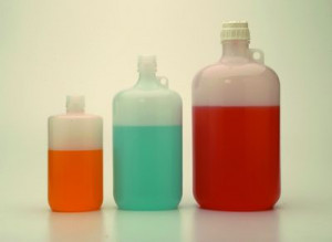 Nalgene™ Large Narrow-Mouth PPCO Bottles with Closure