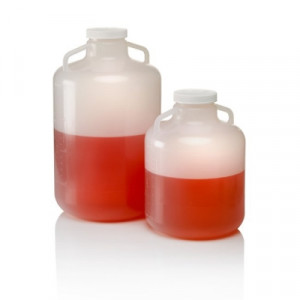 Nalgene™ Autoclavable Wide-Mouth Carboys with Handles