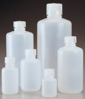 Nalgene™ Narrow-Mouth HDPE Economy Bottles