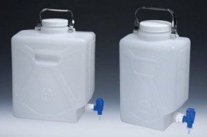 Nalgene™ Rectangular Carboys with Spigot
