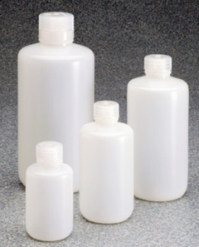 LDPE Low Particulate/ Low Metals Bottles with Closure