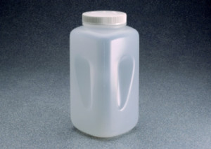 Nalgene™ Square Wide-Mouth Large PPCO Bottle
