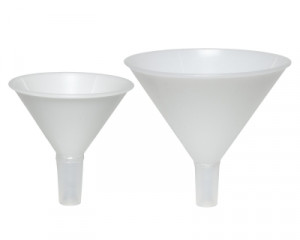 Scienceware® Powder Funnels with Narrow Stem