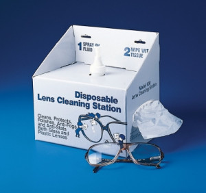 Disposable Lens Cleaning Station