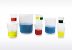 Scienceware® Graduated Beakers with 'No-Drip' Spout