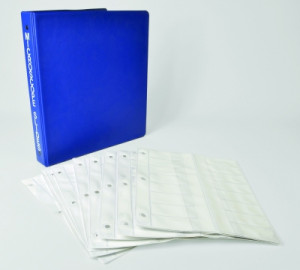 Microscope View-Pack™ Slide Holder With Ring Binder