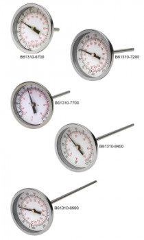 Durac™ Bi-Metallic Dial Thermometer with Threaded Connection