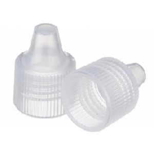 Wheaton® Polypropylene Dropper Tip Caps, Size 15-415