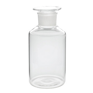 Wheaton® Wide Mouth Reagent Bottles with Ground Glass Stopper