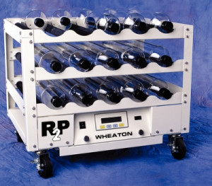 DWK Life Sciences (Wheaton) R<sub>2</sub>P™ Roller Culture Apparatus Battery Backup Options