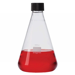 DWK Life Sciences (Wheaton) Erlenmeyer Flasks with Screw Cap