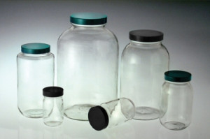 Qorpak® Glass Utility Jars