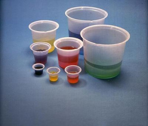 Disposable Polystyrene Beakers
