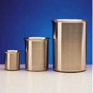 Stainless Steel Beaker with Spout