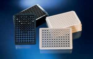 Nunc™ MicroWell™ 96-Well Optical-Bottom Plates with Coverglass Base