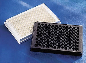 96-Well Solid Color Cell Culture Microplates, Corning®