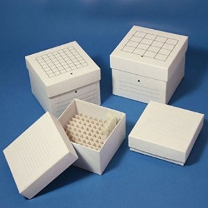 Globe Scientific Cardboard Cryogenic Storage Boxes