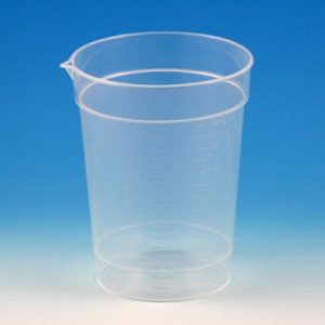 Globe Scientific 6.5 oz Pour Spout Mini Beaker