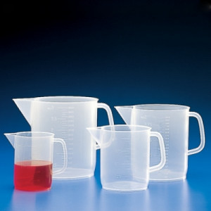 Globe Scientific Low-Form Beakers with Handles