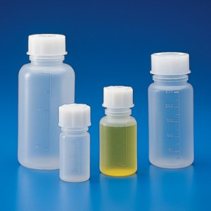 Globe Scientific Wide-Mouth Bottles, Extra Sturdy