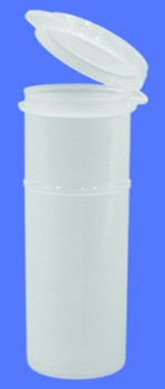 Sterile Sample Vial with Hinged Cap