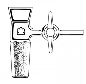 Vacuum Filtration Adapters with PTFE Stopcock