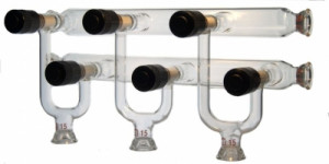 Double Vacuum/Gas Manifold with HI-VAC® Valves