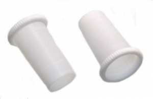 Ribbed PTFE Sleeves with Gripping Ring