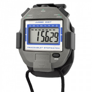 Traceable® Jumbo-Digit Stopwatch with Clip