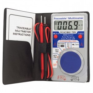 Digital Auto-Range Multimeter, a Krackeler Value Brand