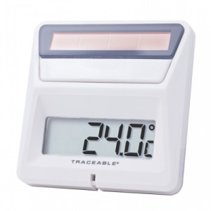 Traceable® Solar-Powered Thermometer
