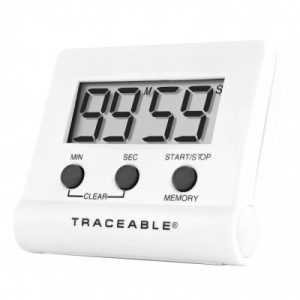 Traceable® Instant-Recall Memory Timer