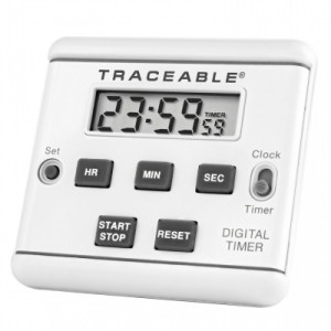 Traceable® LCD Timer Clock