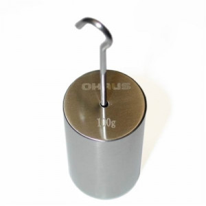 Individual Weights 50g Weight Ohaus 80850145 ASTM Class 6 No Certificate Stainless Steel Slotted