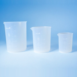 VITLAB® PFA Low Form Griffin Beakers
