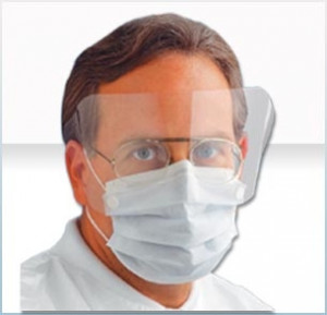 AlphaProTech Critical Cover® ShieldMate® Mask with Extended Shield