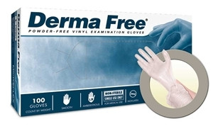 Microflex® DermaFree® Vinyl Gloves, a Krackeler Value Brand